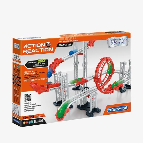 Knikkerbaan Action & Reaction Starterset 50-delig 1