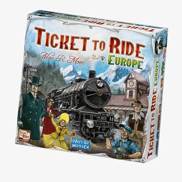 Ticket To Ride Europe - Bordspel 1