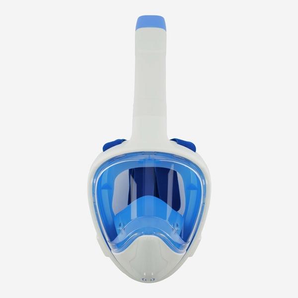 Volgelaats Snorkelmasker - blauw 1