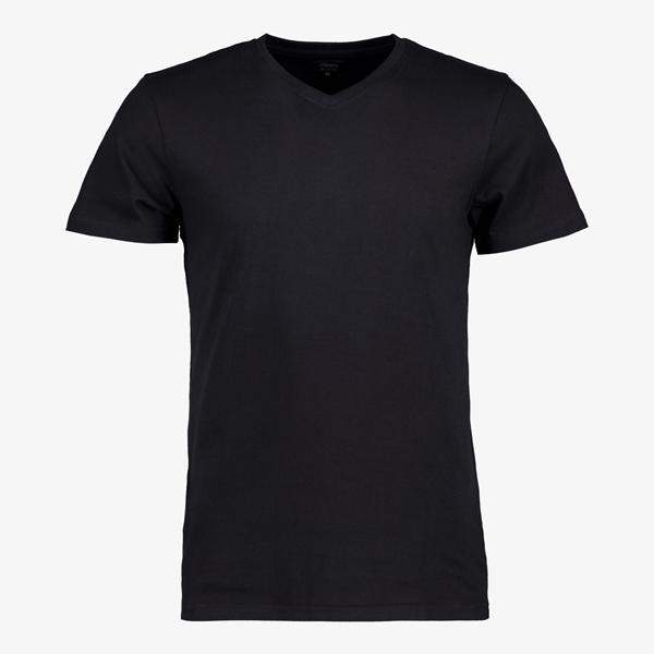 Unsigned heren T-shirt V-hals organic katoen 1