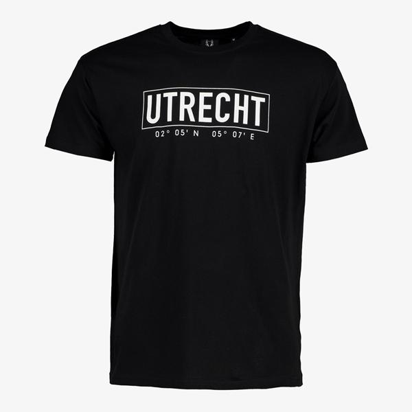 Heren T-shirt Utrecht zwart 1