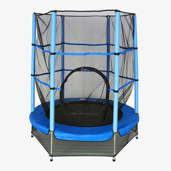 Amigo Trampoline 139 CM blauw 1