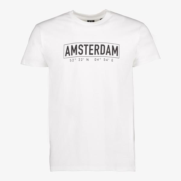 Heren T-shirt Eindhoven wit 1