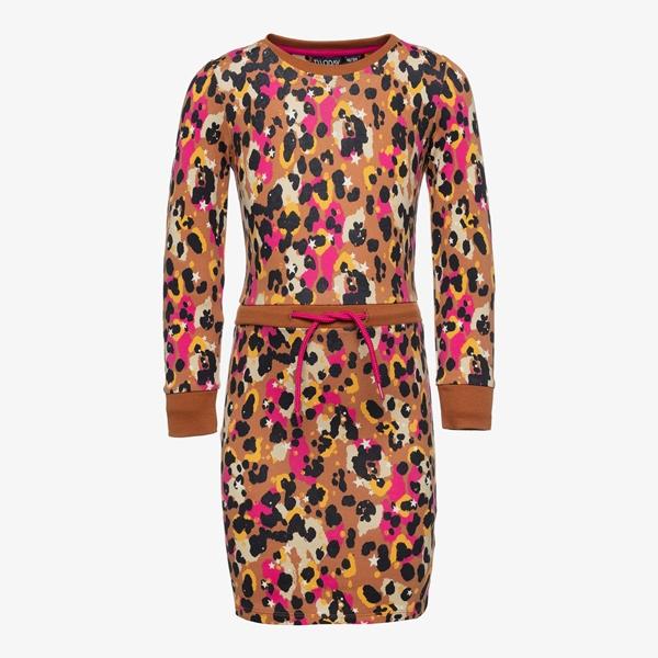 TwoDay meisjes jurk met luipaardprint 1
