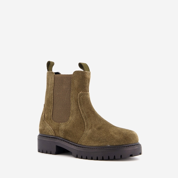 Hush Puppies suede kinder chelsea boots 1