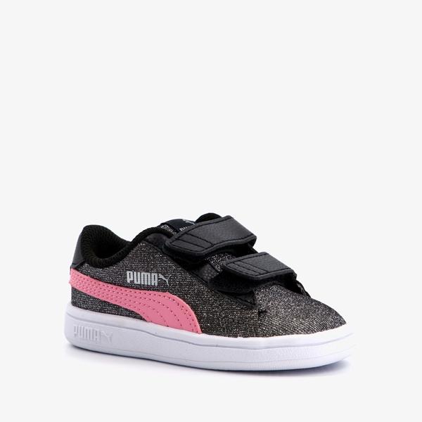 Puma Smash V2 Glitz Glam meisjes sneakers 1