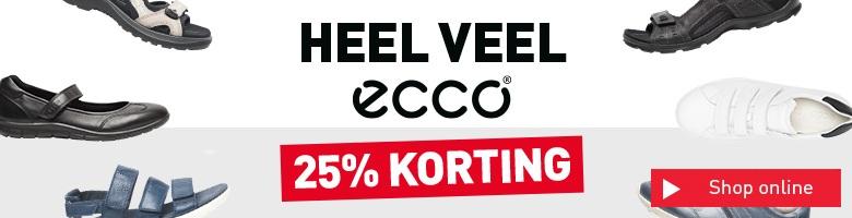 Banner - Ecco 25% korting