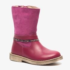 Groot leren meisjes laarzen