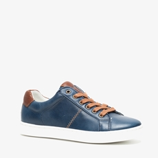 Hush Puppies leren jongens sneakers