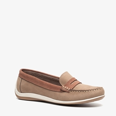 Hush Puppies leren dames mocassins