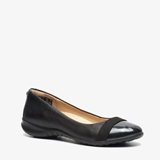 Hush Puppies leren dames ballerina's
