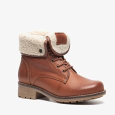 Novocento leren dames veterboots