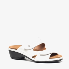 Natuform leren dames slippers