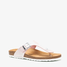 Hush Puppies leren dames teenslippers
