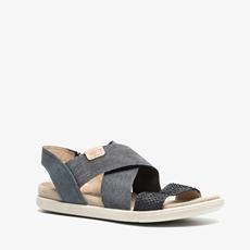 Ecco Damara leren dames sandalen
