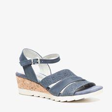 Novocento leren dames sandalen