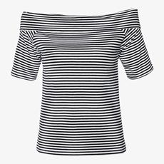 Jazlyn dames off shoulder t-shirt