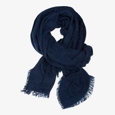 Blauwe dames sjaal