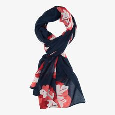 Gebloemde dames sjaal