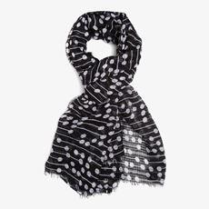 Gestipte dames sjaal