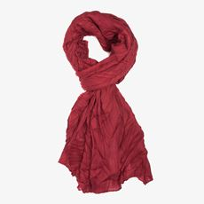 Rode dames sjaal