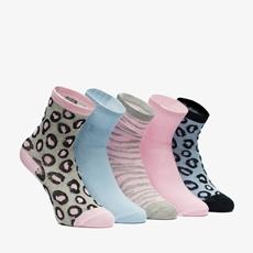 5 paar meisjes sokken