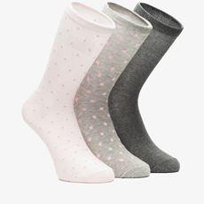 3 paar dames sokken
