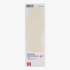 Scapino Cooling Merino inlegzool