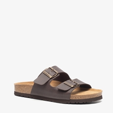 Hush Puppies leren heren slippers