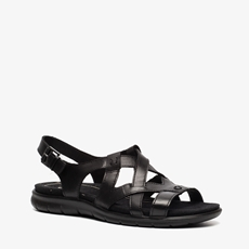 Ecco Babett leren dames sandalen