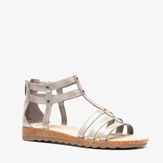 Hush Puppies leren dames sandalen