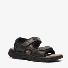 Hush Puppies leren heren sandalen