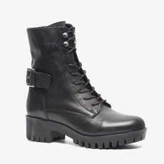 PS Poelman leren dames veterboots