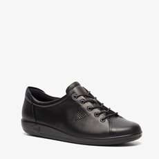 Ecco Soft 2 leren dames veterschoenen