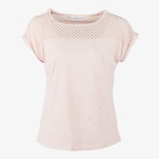 Jazlyn dames t-shirt kant