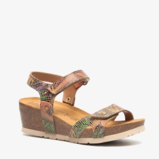 Hush Puppies leren dames bio sandalen