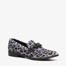 Blue Box dames leopard loafers