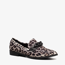 Blue Box dames leopard loafers
