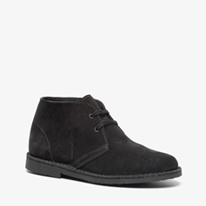 TwoDay suede dames veterschoenen