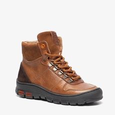 Hush Puppies leren jongens veterboots