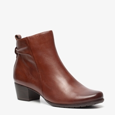 Hush Puppies leren dames enkellaarsjes