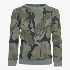 Oiboi jongens camouflage sweater
