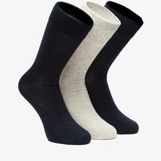 3 paar heren sokken