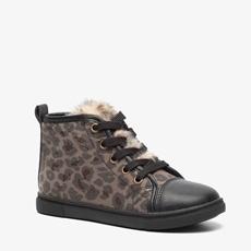 Blue Box meisjes leopard veterschoenen