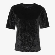 Jazlyn velvet dames t-shirt