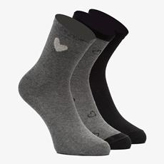 3 paar meisjes sokken