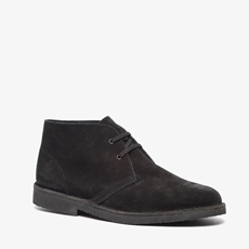 TwoDay suede heren veterschoenen