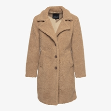 Jazlyn dames teddy coat