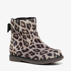 Blue Box meisjes leopard enkellaarsjes