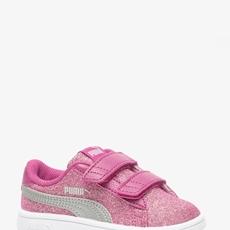 Puma Smash V2 Glitz meisjes sneakers